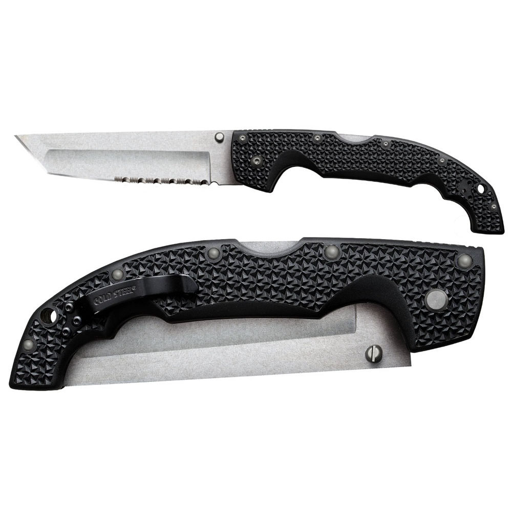 """Cold Steel Voyager X Large Tanto Point 50/50 Edge 12 1/4"""""""