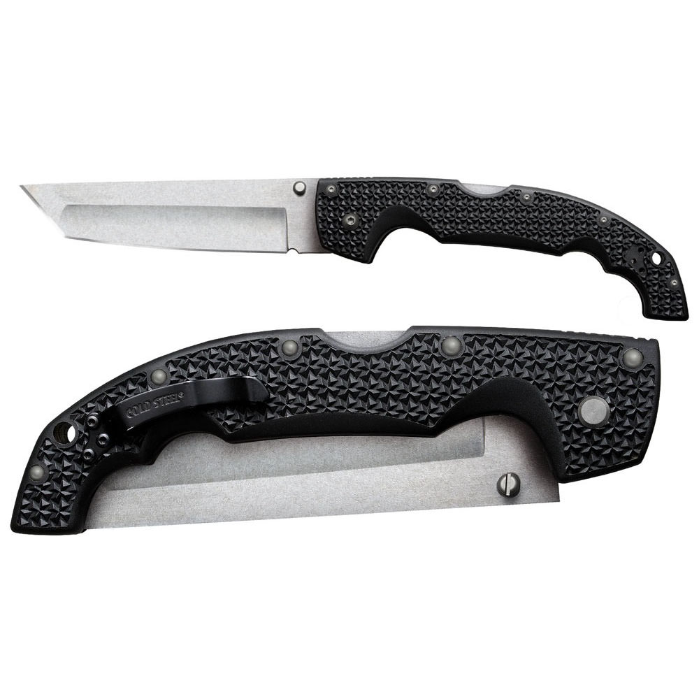 """Cold Steel Voyager X Large Tanto Point Plain Edge 12 1/4"""""""