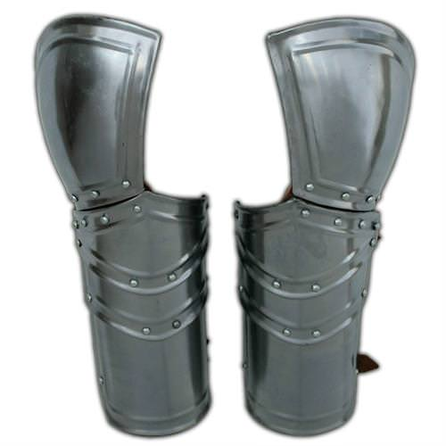 Battle Ready Armor Vambraces 18G Steel Pair