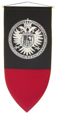 """The Great Heraldic Medieval Crest Banner 48"""""""