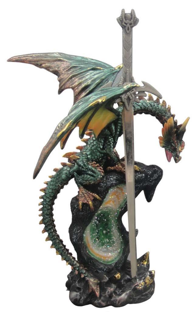 """Dragon Clutching a Letter Opener 7"""""""