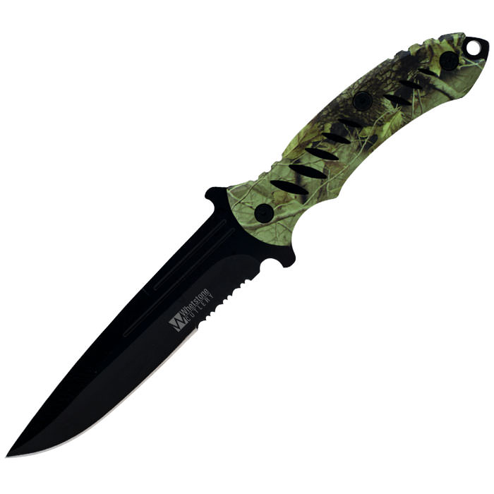 M-Tech Full Tang Camo Survival Knife - 10.375 inches