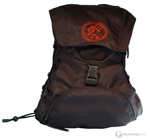 Hellboy Deluxe Backpack with B.P.R.D logo