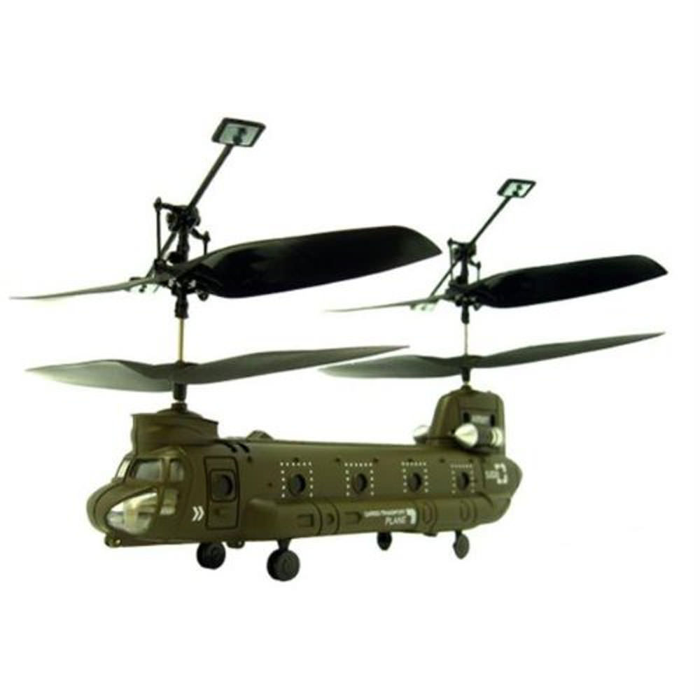 Micro Chinook Cargo 3 Channel RC Helicopter