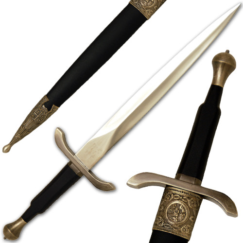 Beautiful Intricate Medieval Dagger 15 1/2""
