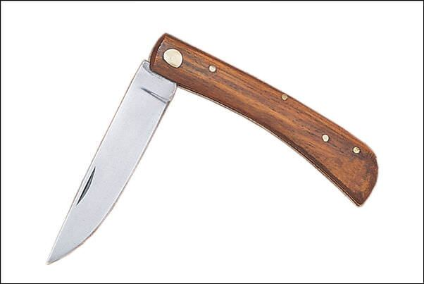 Sodbuster Work Knife Wood 203115