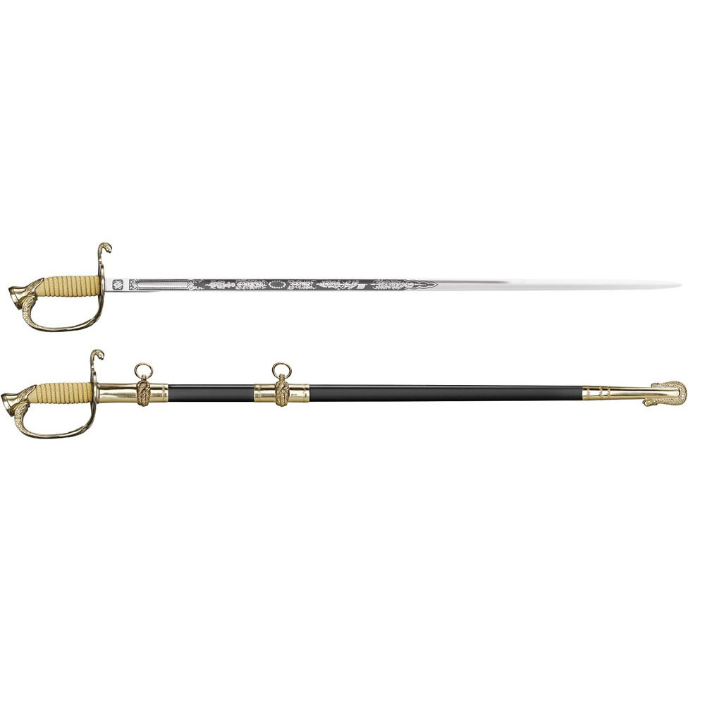 """US Naval Officer's Sword (Issue Handle) 37 1/4"""""""