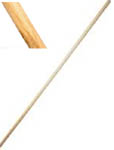 6 Foot White Oak Bo Straight Staff Martial Arts Kung Fu Karate 72""