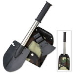 Four Piece Set with Holder -AXE/SAW/SKINNER/SHOVEL