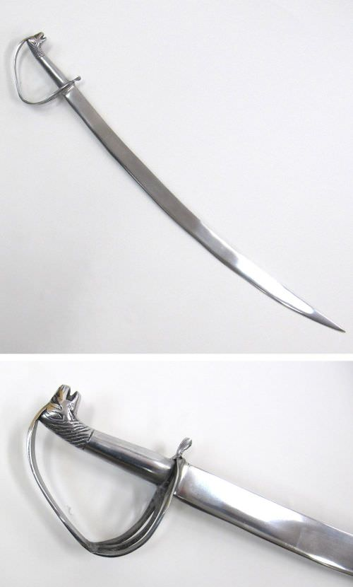 Aluminum Sabre w/ Styled Handle