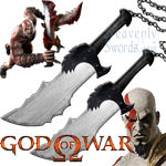 God of War - Blades of Chaos - wooded (set of 2)