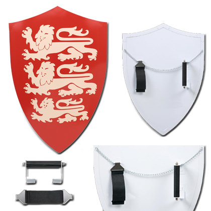 Richard LionHeart Shield Battle Ready Medieval Crusader
